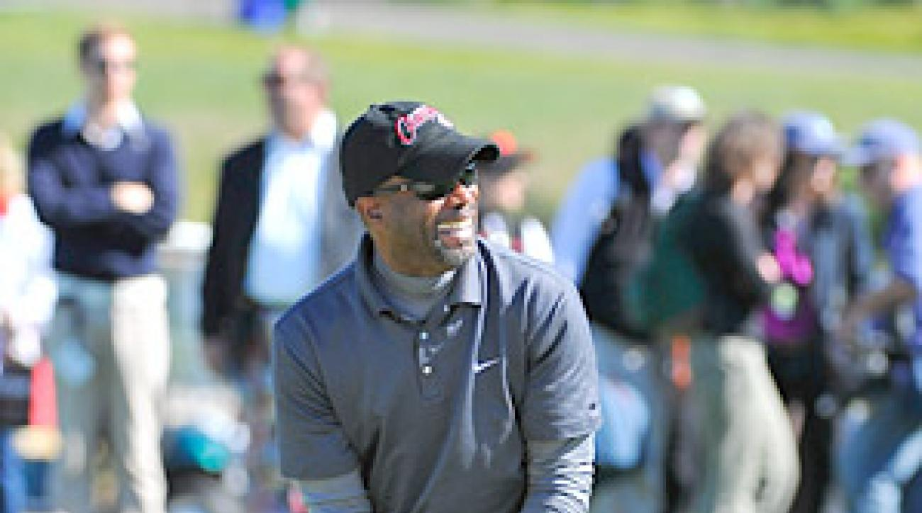 Rucker Wednesday during a practice round at the 2011 AT&T Pebble Beach National Pro-Am.