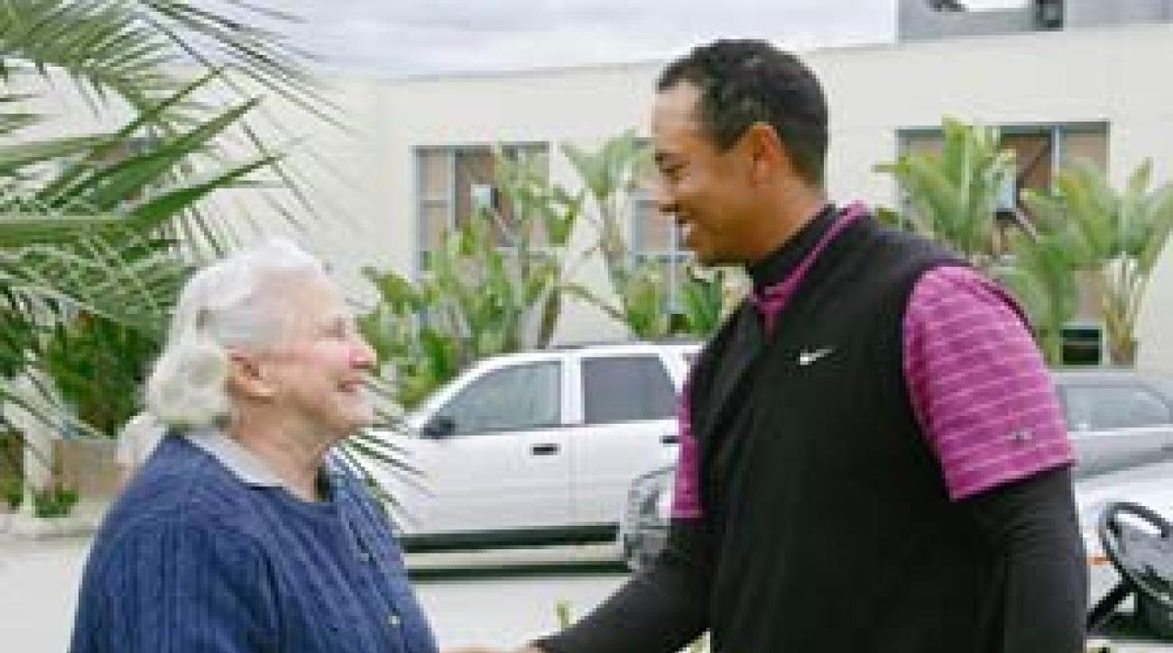 Wade (with Woods in January) first watched Tiger play when he was 13.