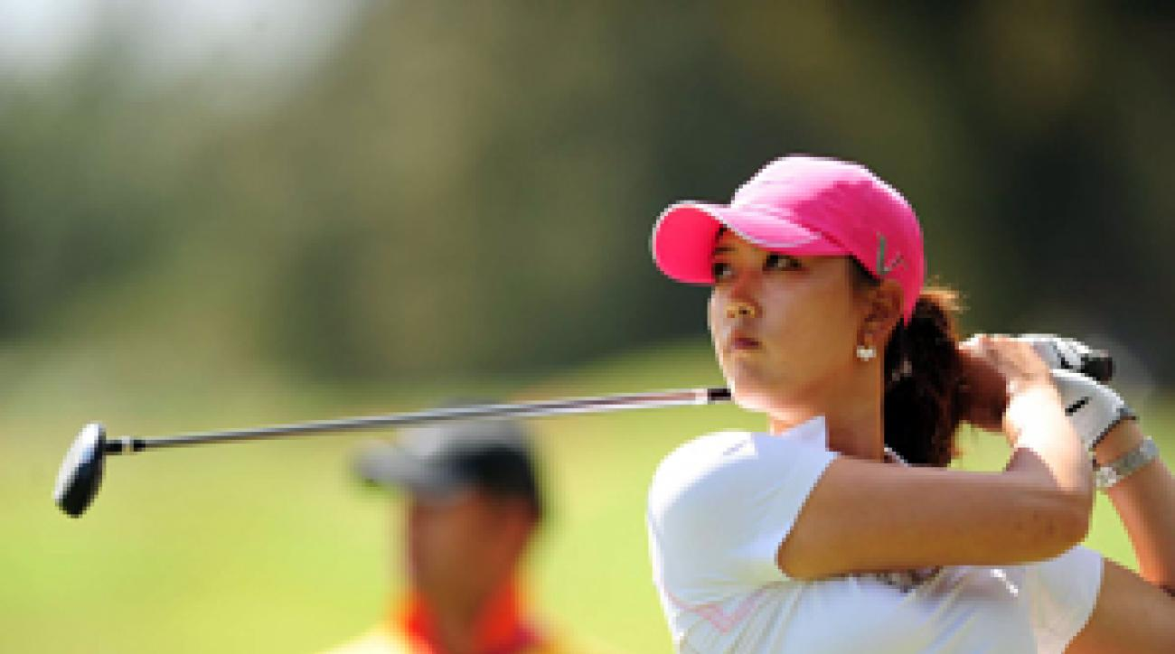 After losing a three-shot lead over the weekend, Michelle Wie has homework and a mid-term at Stanford.