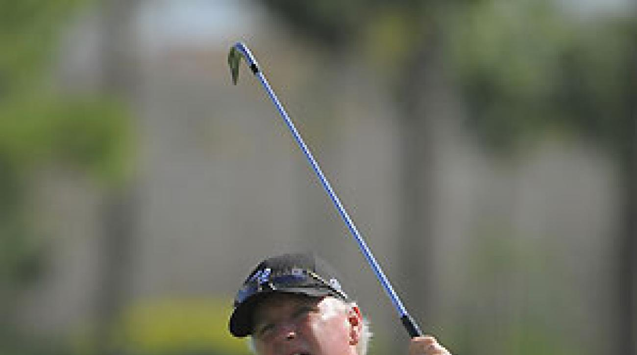 Tom Jenkins shot an 8-under 64 Saturday.
