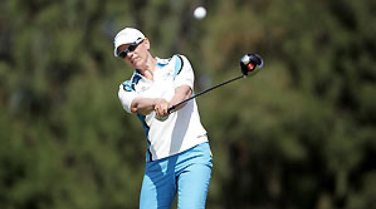Annika Sorenstam won her second straight event in Hawaii.