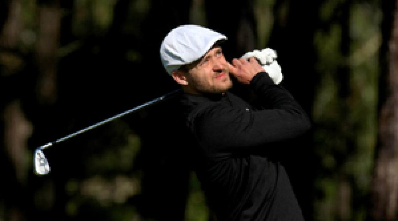 Justin Timberlake wants to move his tournament to a prime spot on the PGA Tour schedule.