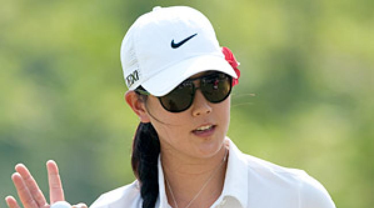 Michelle Wie finished fifth last year in Dubai after struggling for most of the tournament with a bad back.