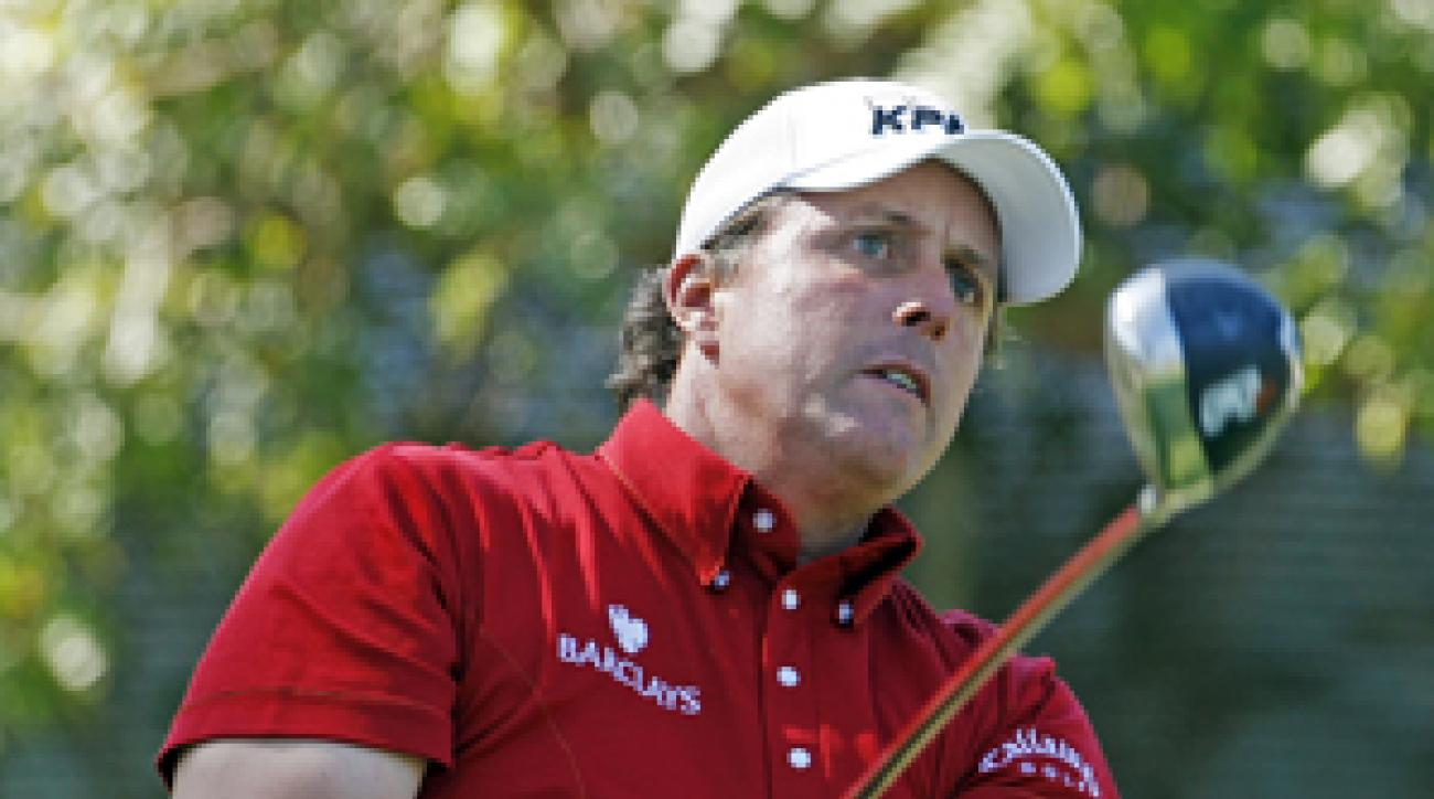 Phil Mickelson won the Northern Trust Open last year by two shots.