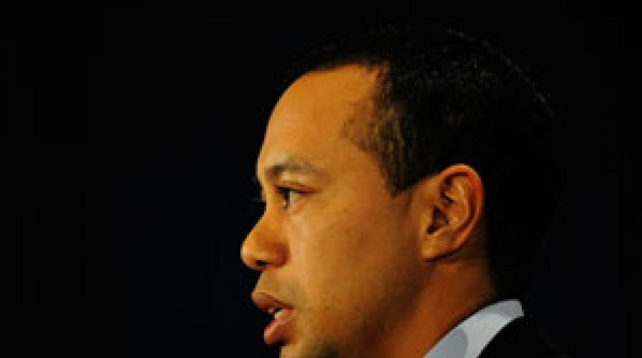 """""""For all that I have done, I am so sorry,"""" Woods said. """"I have a lot to atone for."""""""