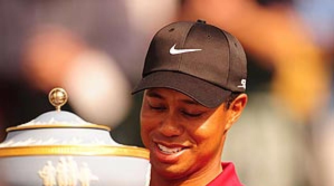 It's a foregone conclusion that Tiger will win every tournament.