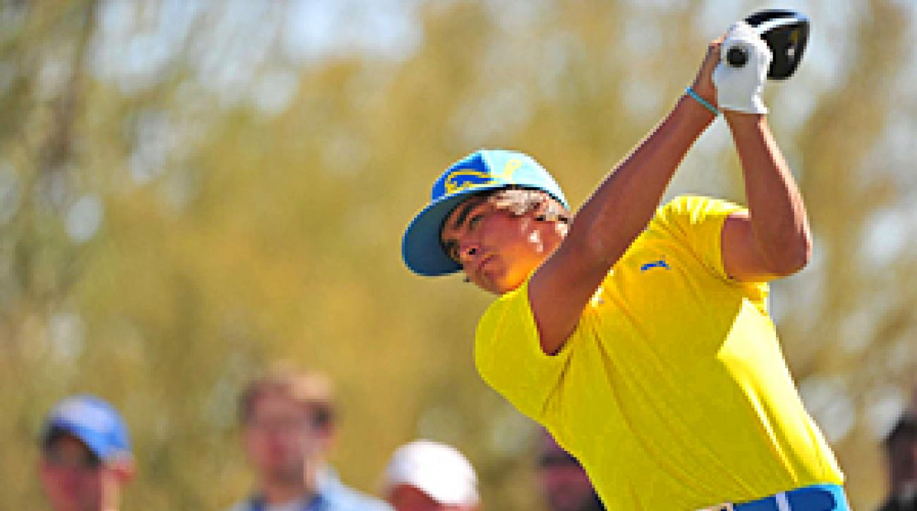 Rickie Fowler looked unbeatable on Thursday, but he couldn't get past Matt Kuchar on Friday.