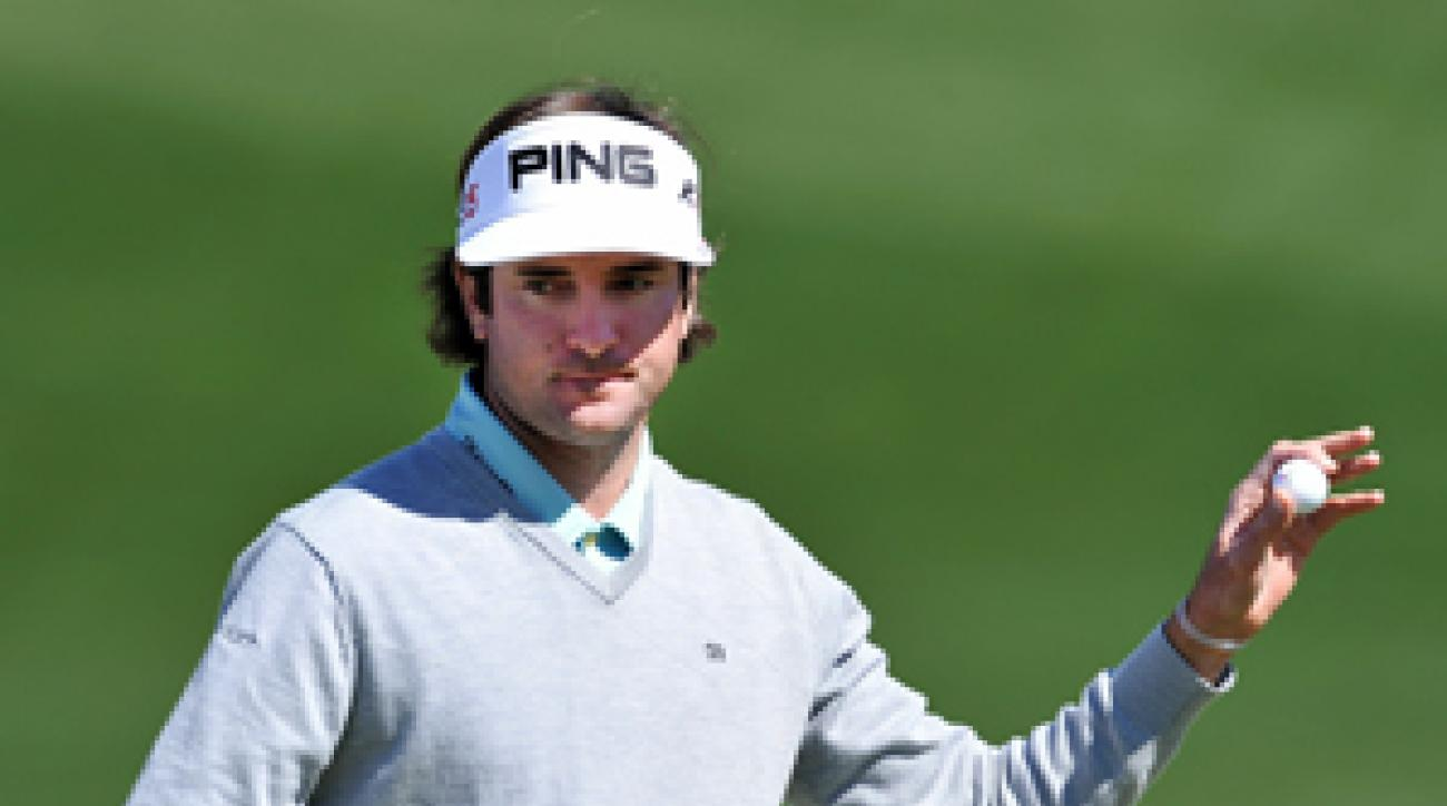 Bubba Watson has two top 10s this season, including a win at Torrey Pines.