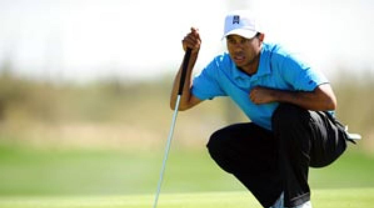 Woods on Wednesday at the Match Play.
