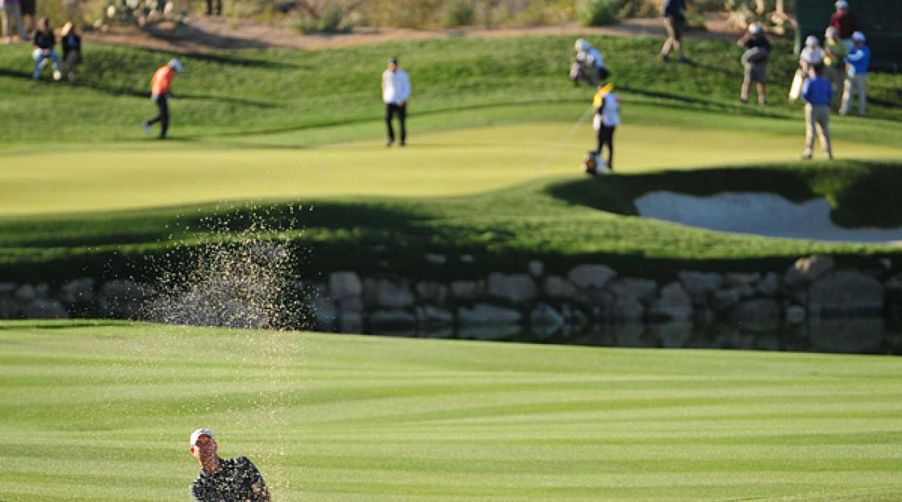 Stewart Cink made the semifinals for the second straight year after defeating Ernie Els, 2 and 1.