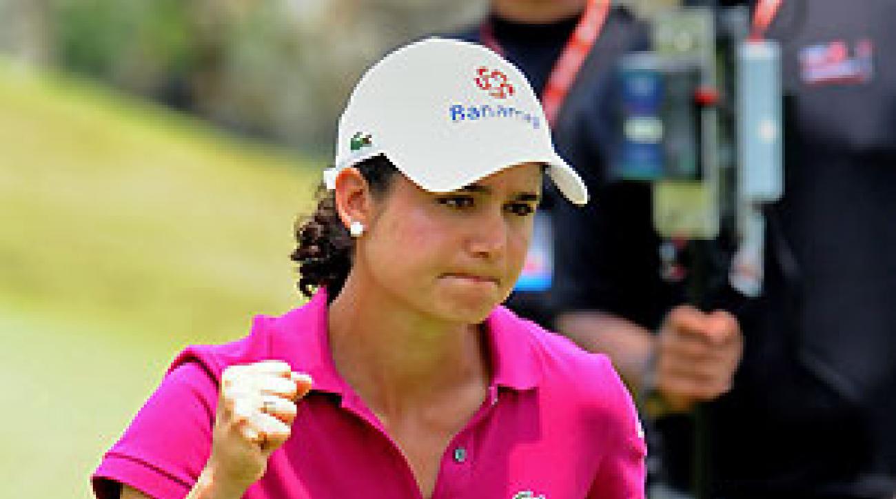 Lorena Ochoa made six birdies and no bogeys.