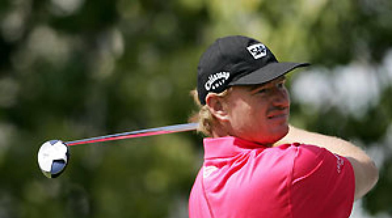 Ernie Els made five birdies, one eagle, and no bogeys.