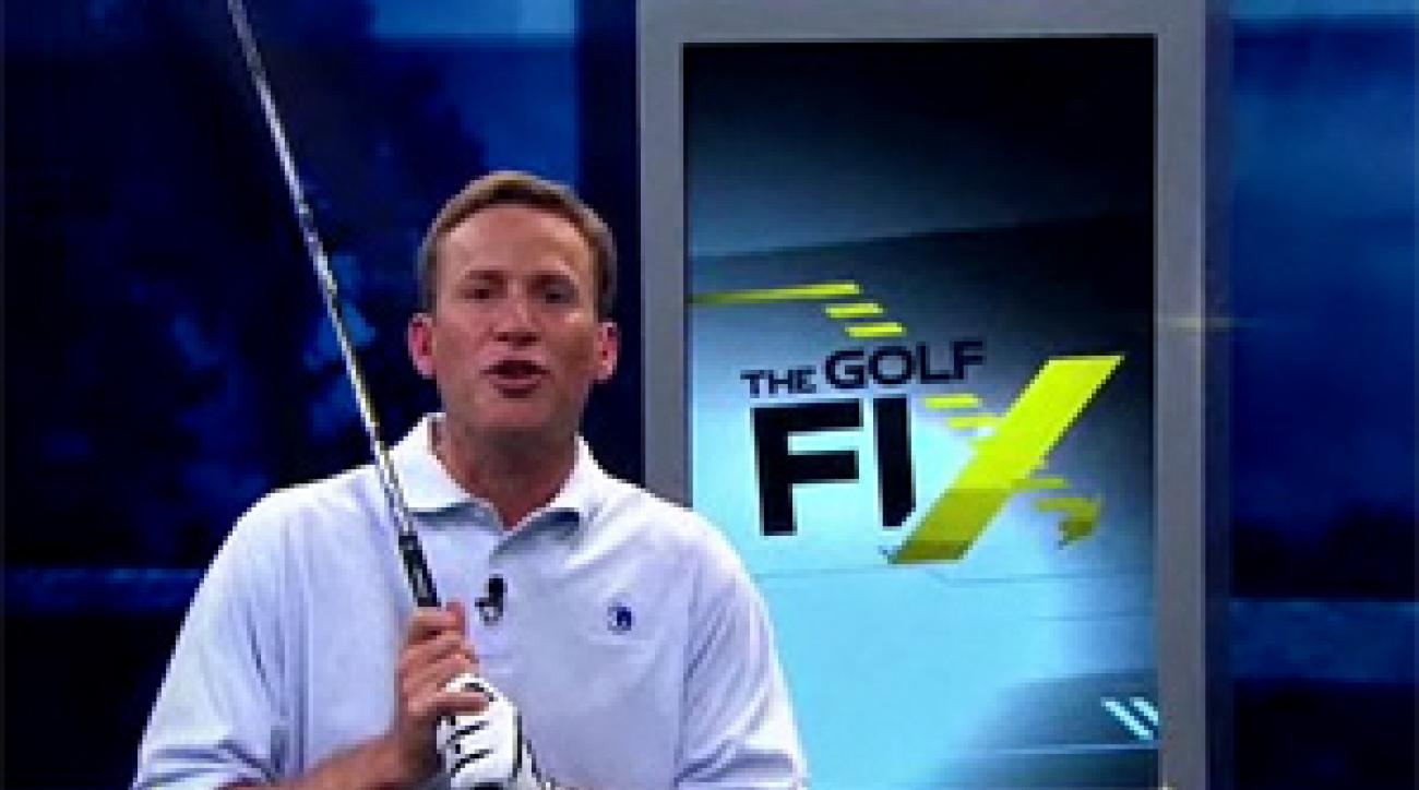 "Michael Breed hosts ""The Golf Fix"" on Golf Channel."
