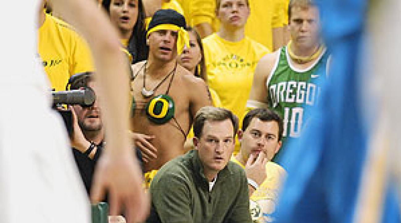 Martin rode into the spotlight, but now he's happy watching hoops with Schmidt.