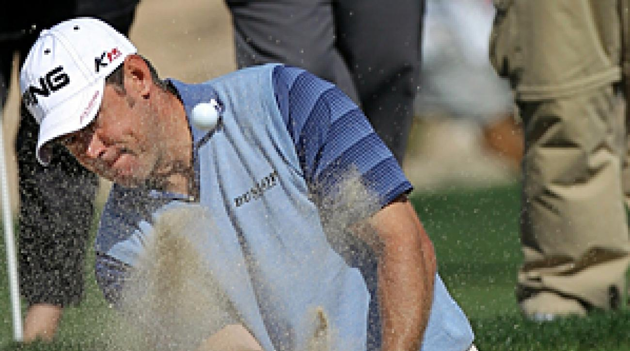 """Lee Westwood attributed his missed cut to """"early-season rust."""""""