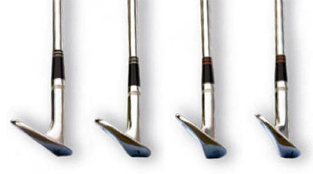 Your new-rule wedge set: Add a 64° x-wedge [far left] to the rest.