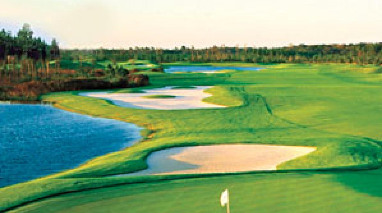 Driving hazards lurk at LPGA International's Champions course.