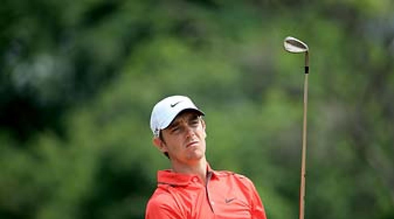 Tommy Fleetwood during the third round of the 2014 Volvo Golf Champions in Durban, South Africa.