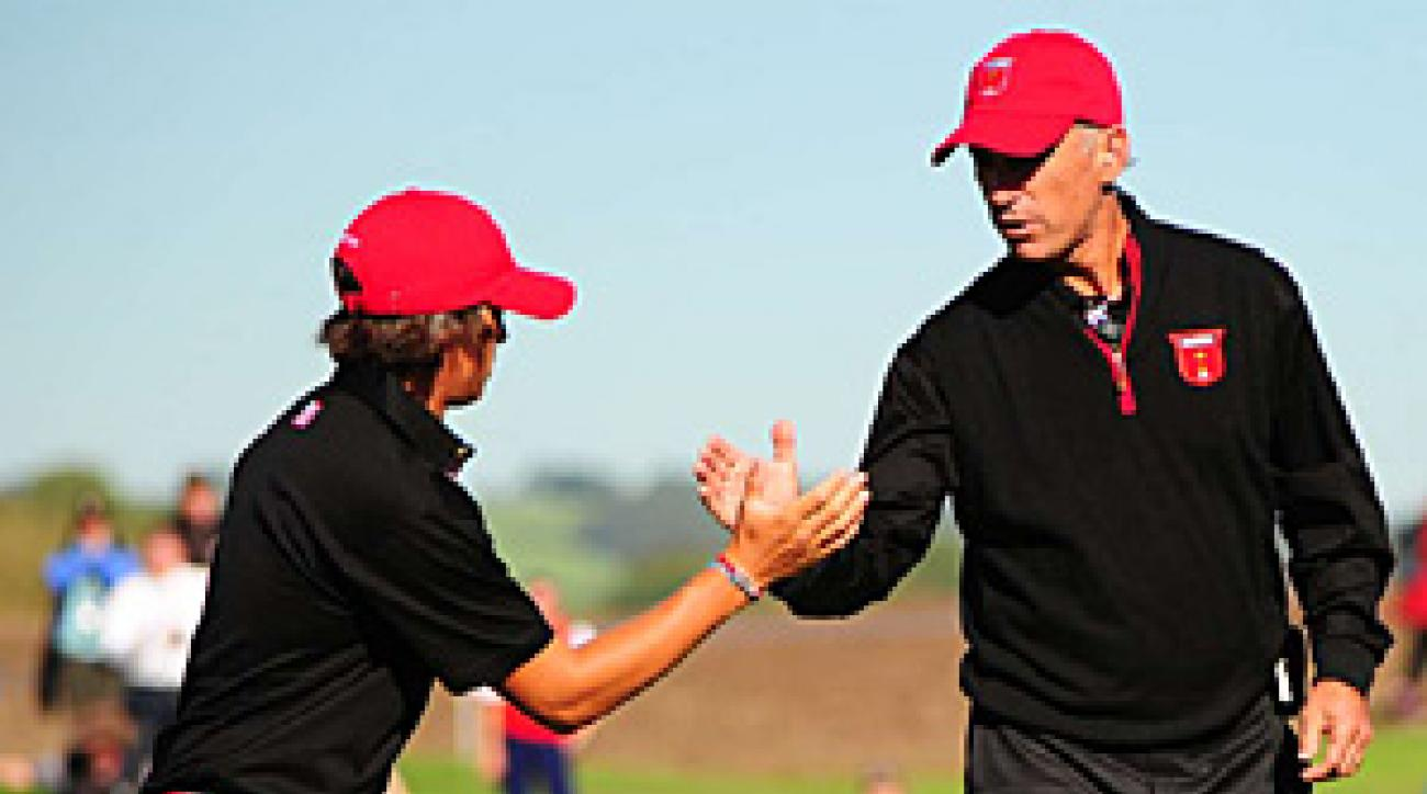 Rickie Fowler's gutsy half a point was one of the many amazing feats the Americans pulled off for captain Corey Pavin.