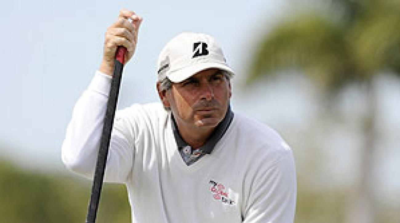 Fred Couple won the Insperity Championship by seven shots last year.