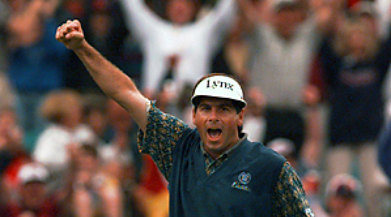 Fred Couples was ranked No. 1 for 16 weeks in 1992.