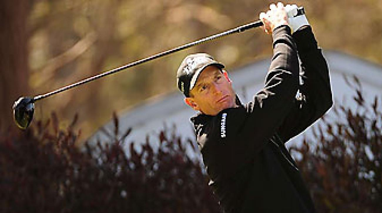Jim Furyk and Graeme McDowell pulled into contention on Friday.