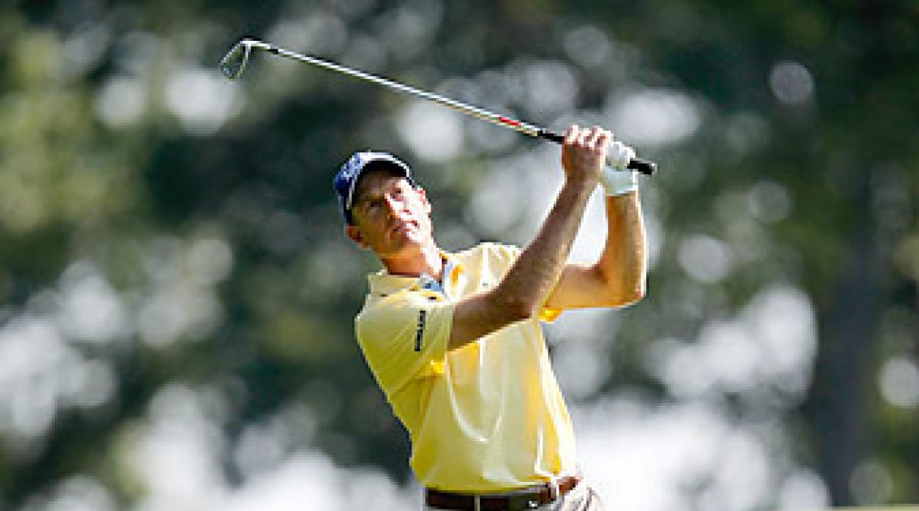 Furyk shot a seven-under 63 on Thursday.