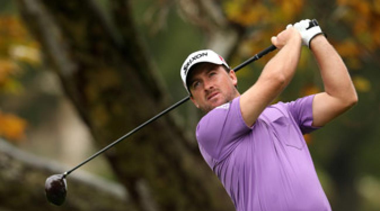 Graeme McDowell four birdies and no bogeys.