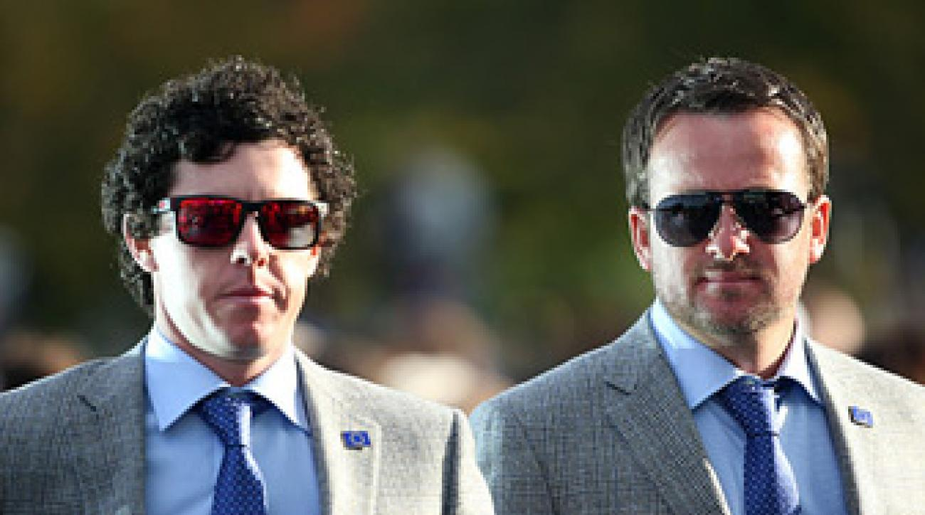 Graeme McDowell, right, and Rory McIlroy are part of a new generation of great European Ryder Cup players.