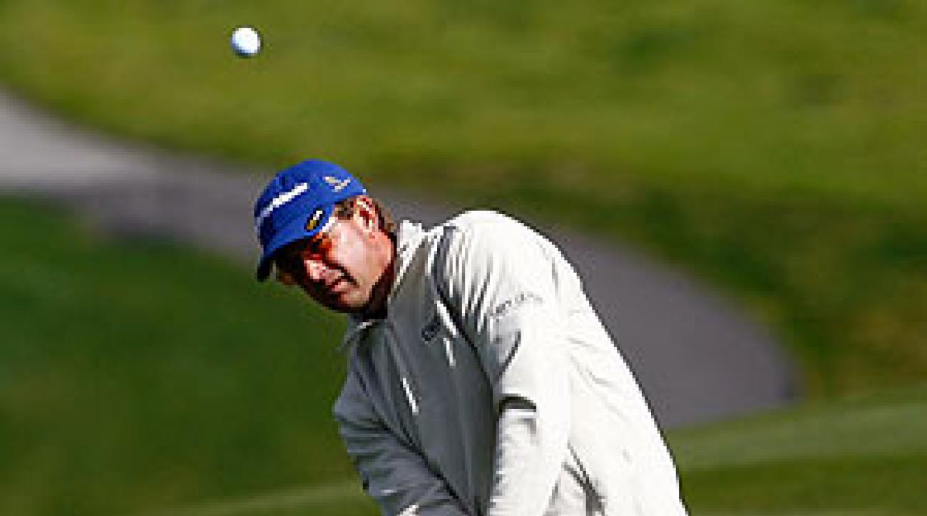 Goosen shot an 8-under 64.