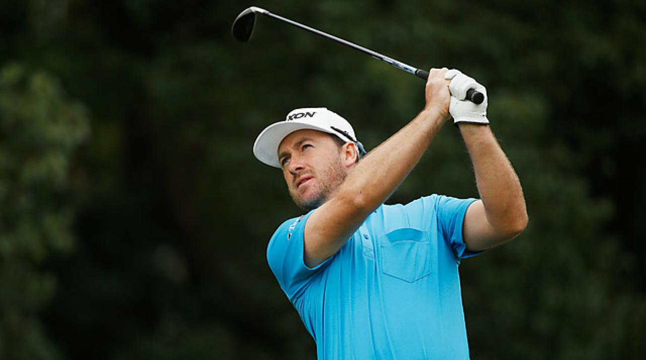 Graeme McDowell fired his second 67 of the tournament to extend his lead to three.