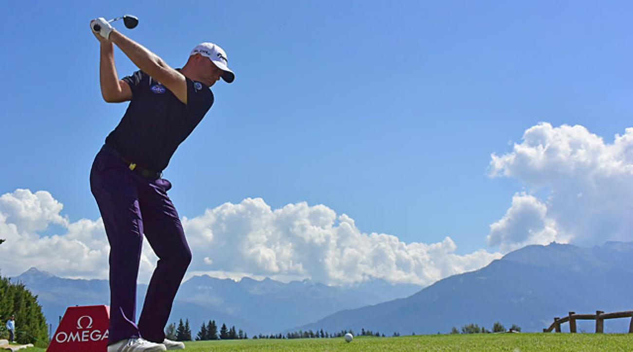 Graeme Storm holds a one-shot lead heading into the final round.