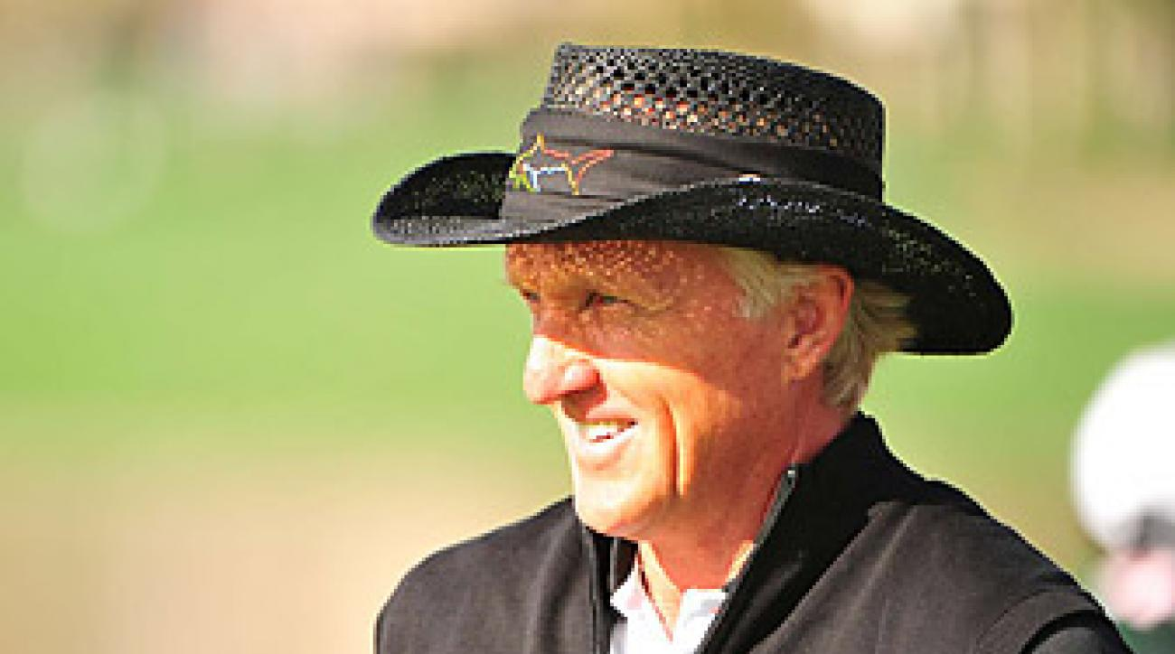 Greg Norman spent 331 weeks as the no. 1 golfer in the world.