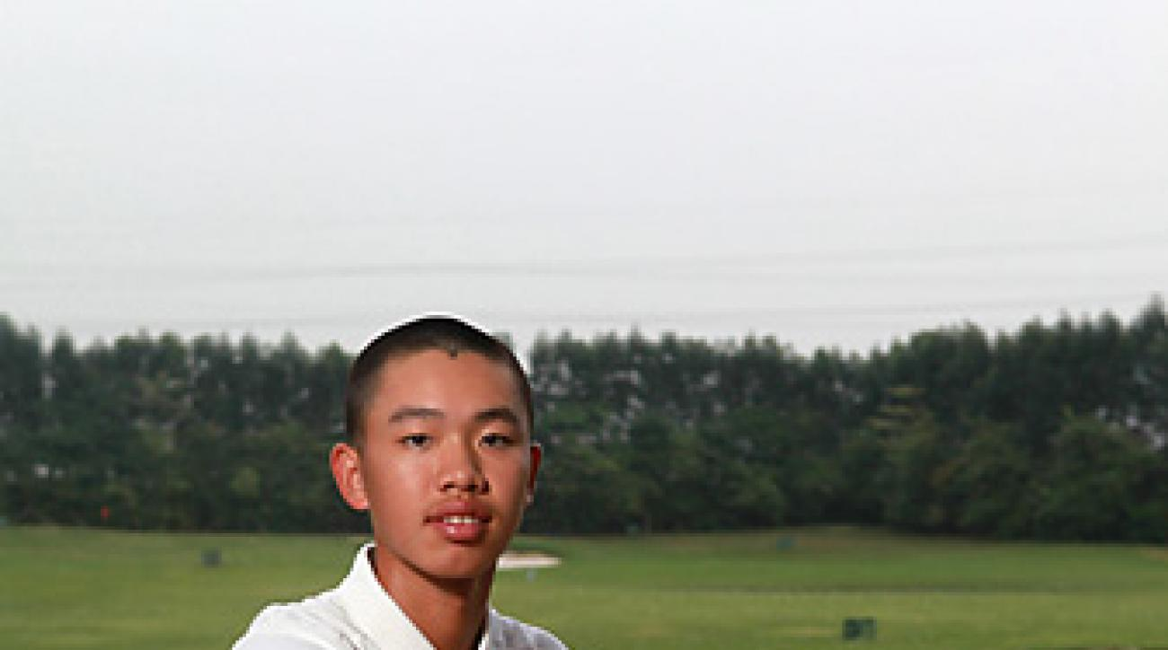 Guan is the newest face of golf in China.