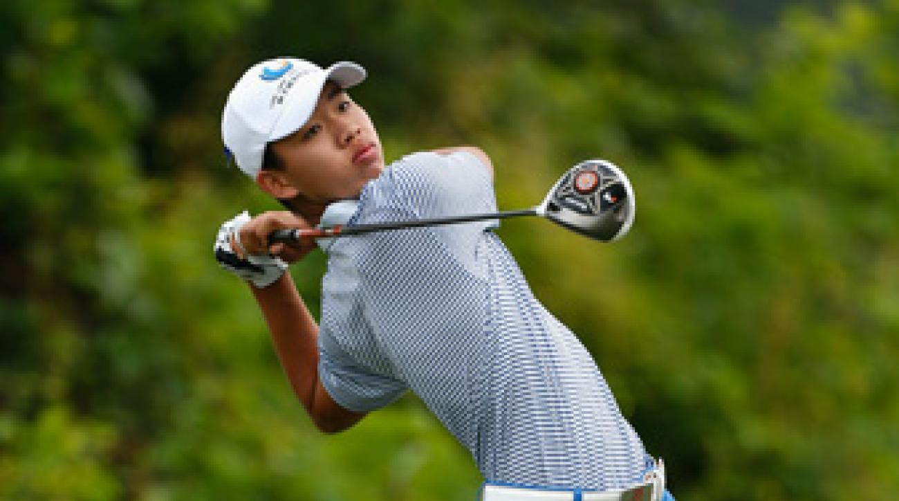 Guan Tianlang has accepted a sponsor's invite to the Byron Nelson Championship.