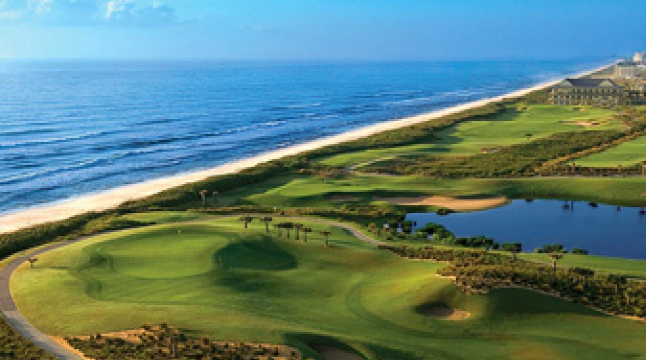 The Ocean Course at Hammock Beach Resort in Palm Coast, Florida.