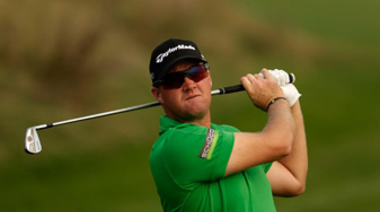 Peter Hanson made six birdies and one bogey on Sunday.