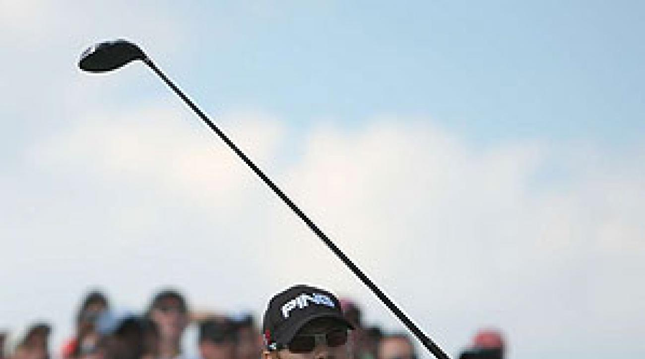Heath Slocum shot a four-under 67 Sunday.