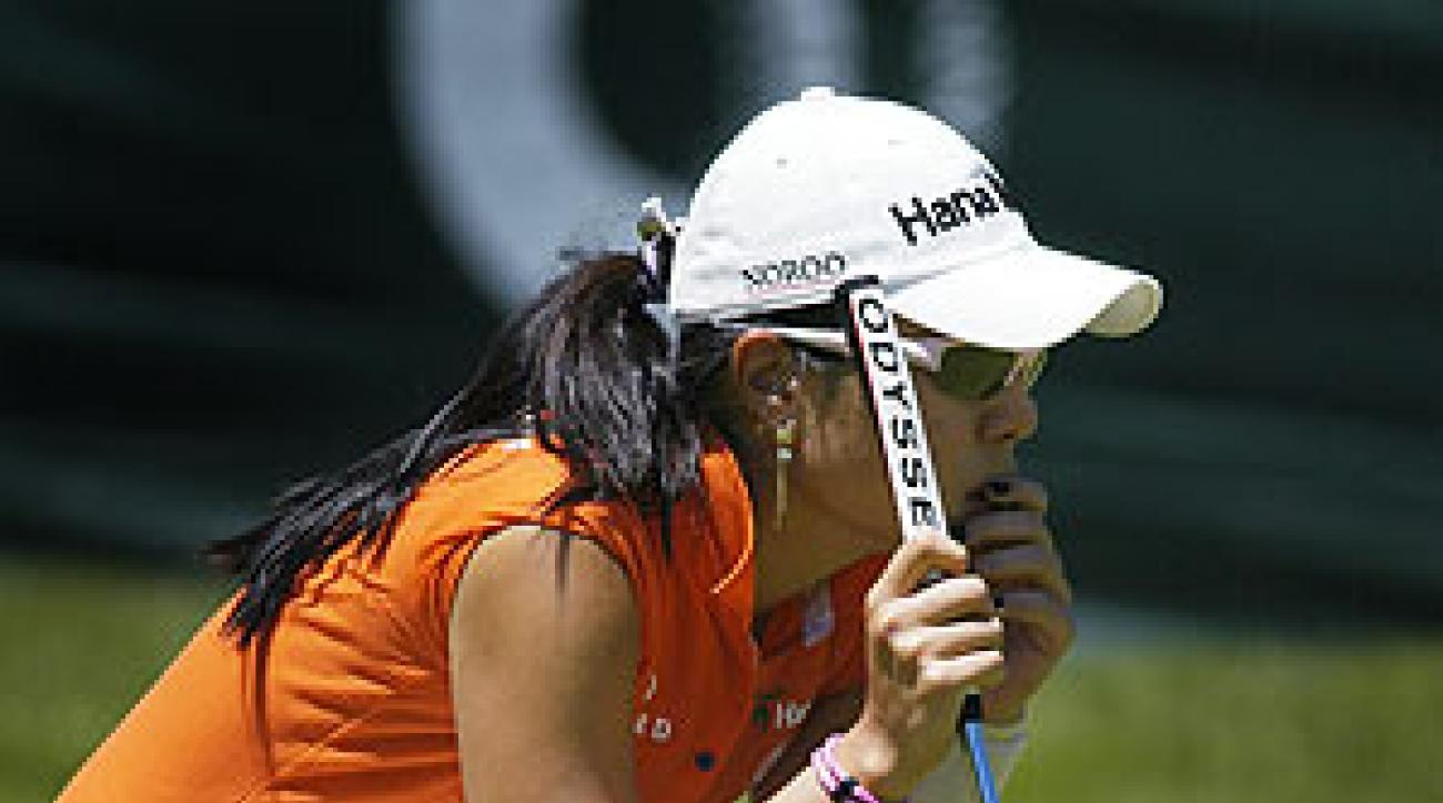 Hee Young Park shot an eight-under 64.