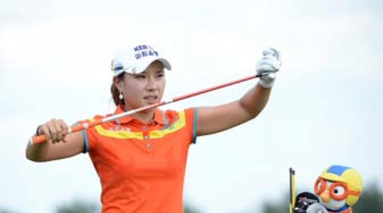 Hee Young Park shot 61 on Saturday and 64 Sunday for her second LPGA win.