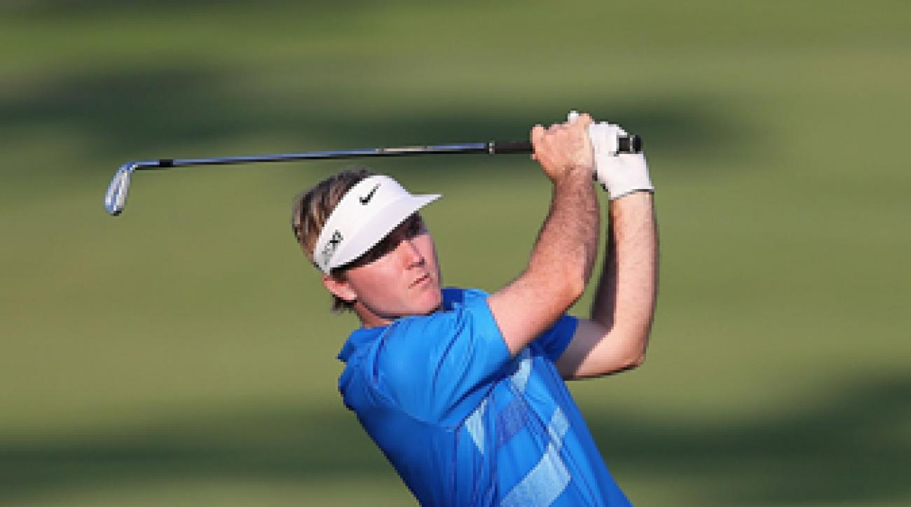 Russell Henley, who shot a first-round 64, won last week's Sony Open.