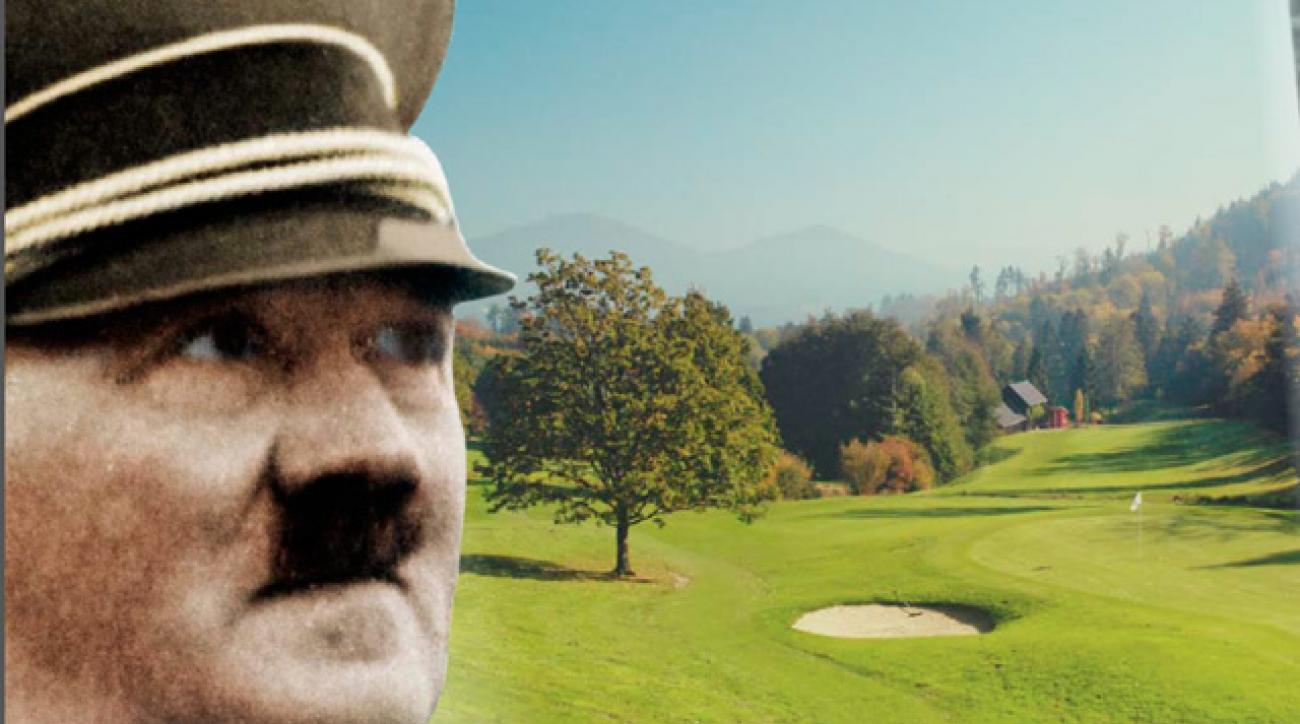 Adolf Hitler sponsored the Golfpreis der Nationen at the Baden-Baden Golf Club in 1936.