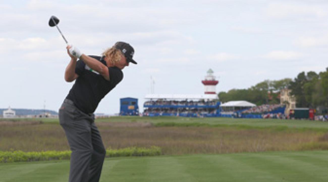 Charley Hoffman made five birdies and no bogeys on Saturday.