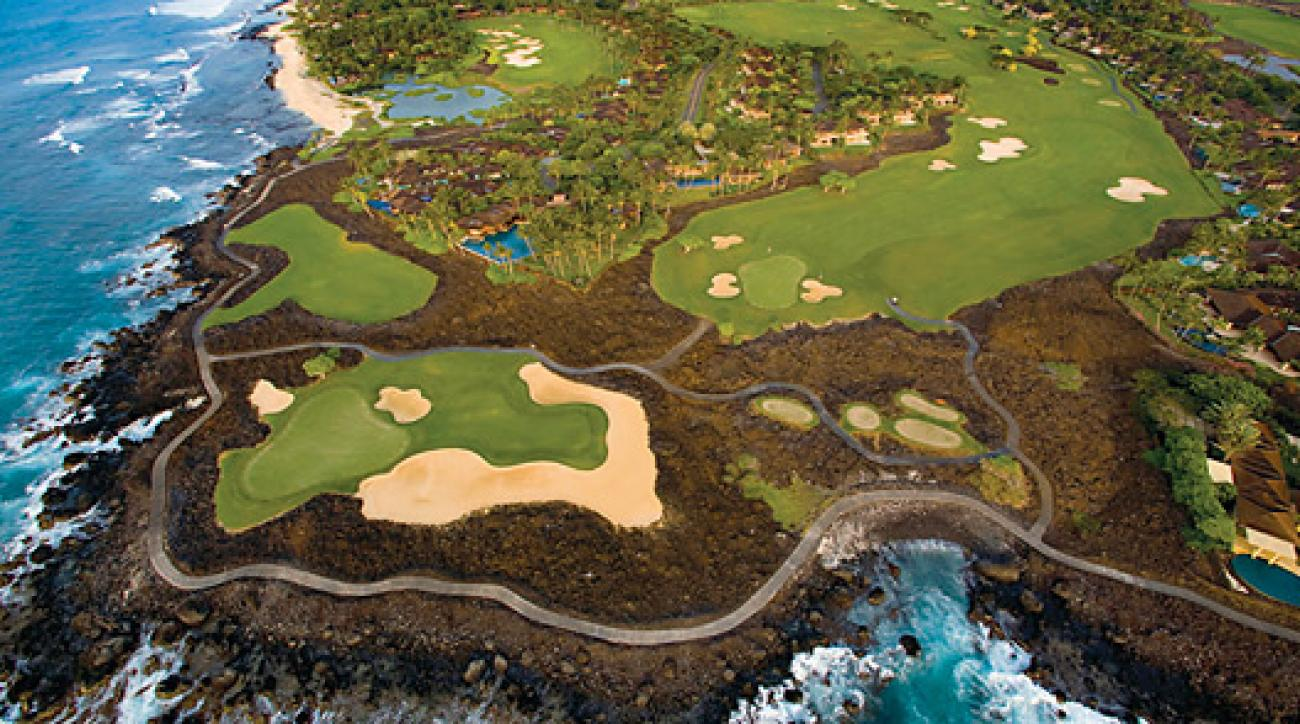 The Hualalai Course at Hawaii's Four Seasons Resort.