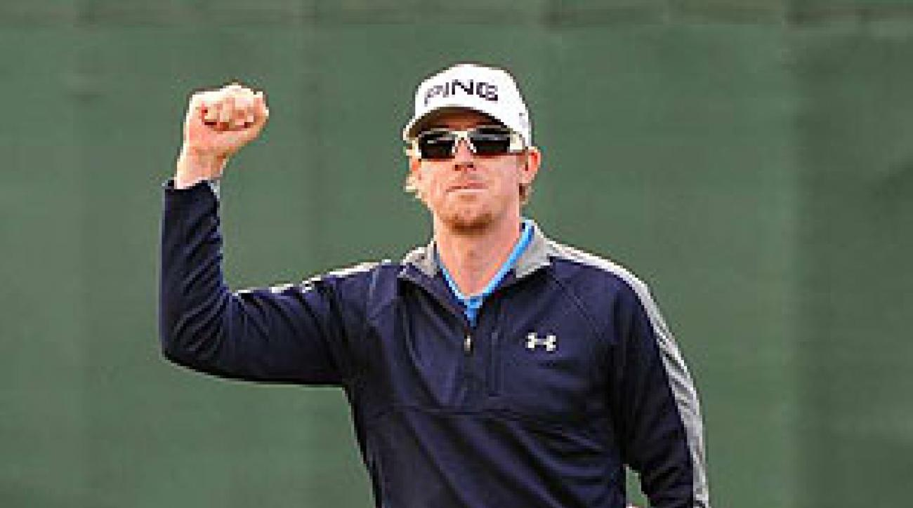 Hunter Mahan shot a 65 Sunday.