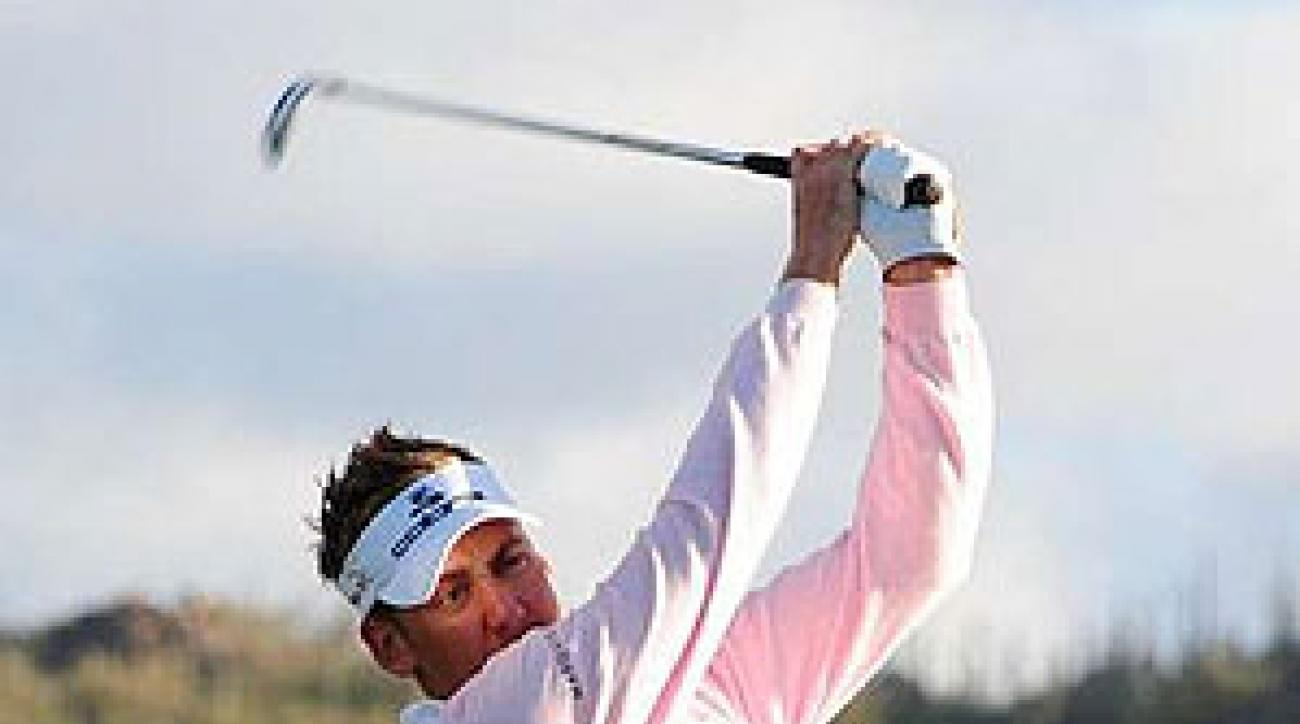 Poulter needed just 114 holes to win six matches, second only to Woods's 112 in 2003.