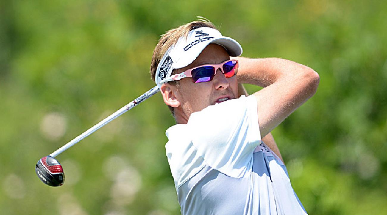 Poulter, who won this event in 2011, lost his first-round match this year.