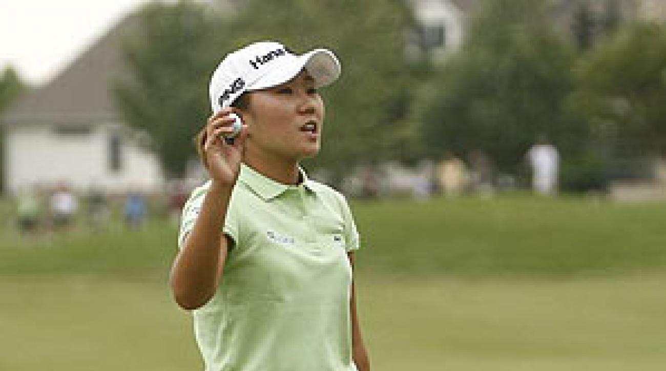 Kim shot a seven-under 65 on Sunday.