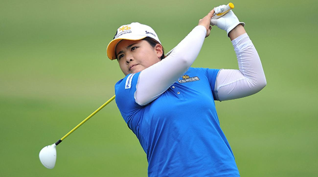 Inbee Park made eight birdies and one bogey on Friday.
