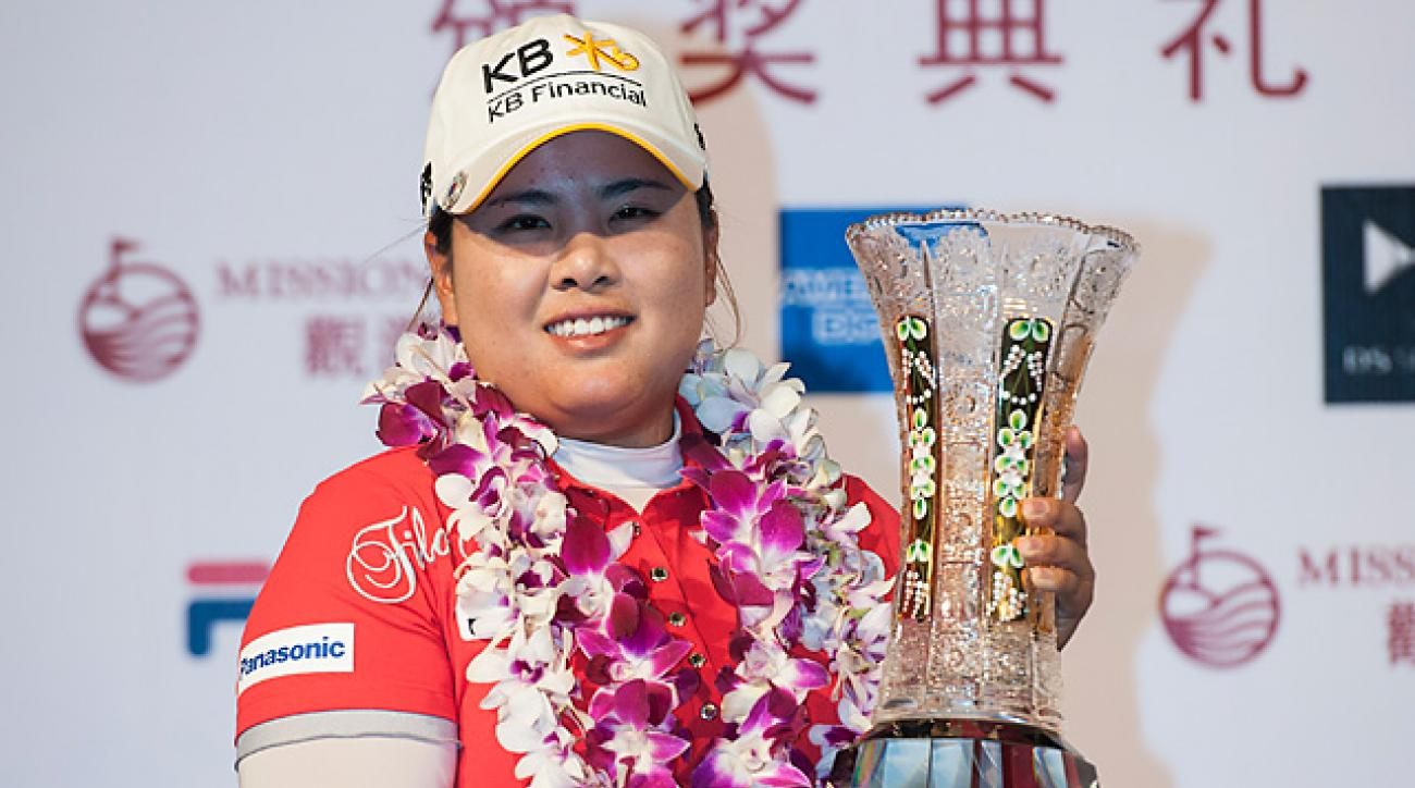 Inbee Park made five birdies and no bogeys on Saturday.